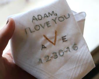 Wedding Handkerchief [Custom]