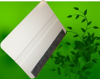 Squeegee Vinyl Application Tool - FELT lined vinyl installation tool for interior wall decal application. FREE shipping with purchase