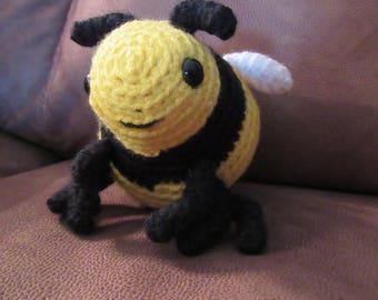 READY TO SHIP Bumble Bee Amigurumi