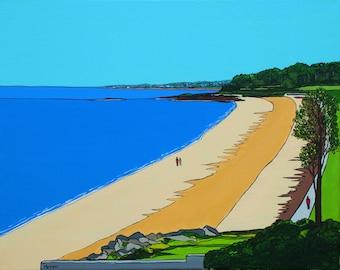 Crawfordsburn Beach (Print)