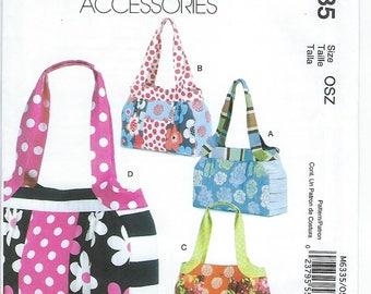 McCalls 6335 - Bags/Purses