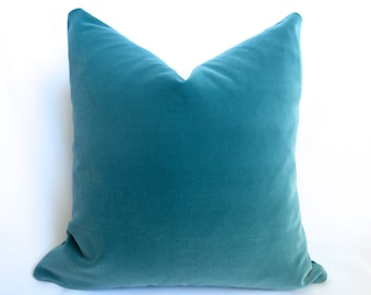 green htm p sankara juniper silk throw teal pillow