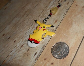 Pikachu Christmas Ornament // Pokemon X-Mas Ornament // Cartoon Holiday Decor // Stocking Stuffer