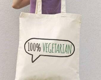 Vegetarian tote bag-vegan tote bag-grocery tote bag-farmers market tote bag-vegan gift-custom tote bag-botanical tote-NATURA PICTA-NPTB111