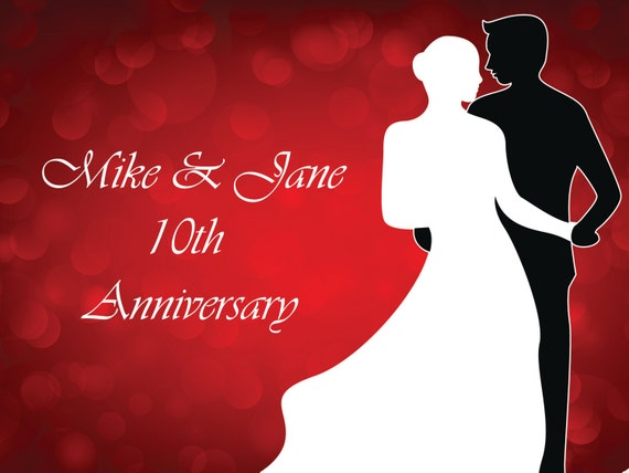 Wedding anniversary sign charaworks rustic designs