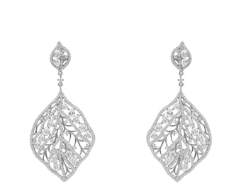 Enchanted Forest Earring Silver