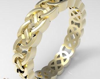 Gold Celtic Ring