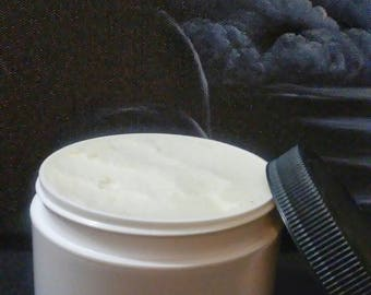 8 oz. Whipped Shea Body Butter, Eczema Relief for Hands and Body, Cocoa Butter, Organic Lotion, Skin Care, Handmade Body Butter, Dry Skin