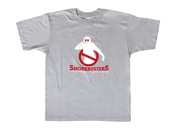 Vintage Smokebusters Smoke Free Class of 2000 T-Shirt