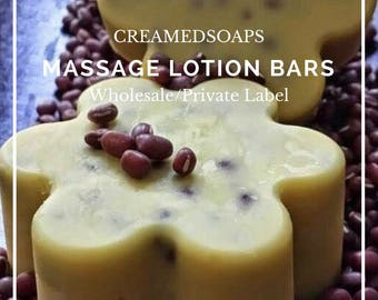 Wholesale/Private Label Beeswax Massage - Lotion Bars {18 ct}