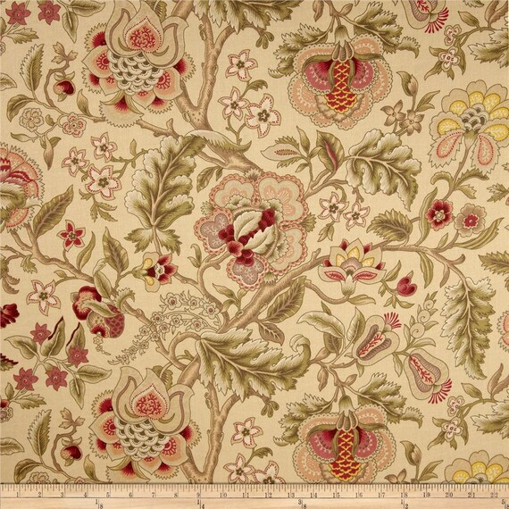 Drapery Panel In Waverly Imperial Dress Gold