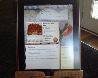 Simple IPad/ Tablet Stand For the Kitchen