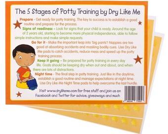 Dry Like Me Potty Training Reward Chart