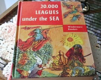 Hardcover, 20,000 Leagues Under The sea, Jules Verne