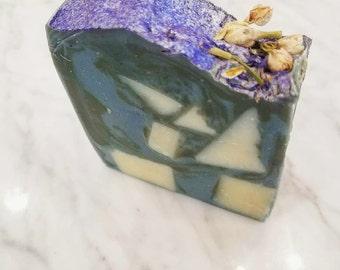 Bergamot Jasmine Soap - Natural Handmade Soap Handcrafted Soap Floral Mothers Day Soap Springtime Summertime Vegan Mindful Creations by KJ