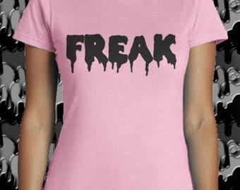 "FREAK style ""Pastel Goth"" t-shirt woman"