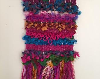 Woven Wall Hanging : Sari Selma