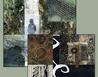 How I create CitraSolv Contemporary Collages