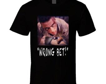 Lionheart Van Damme Action Movie T Shirt