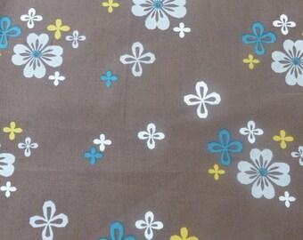 1/2 Yard Organic cotton, Monaluna, Westwood, Dapple floral