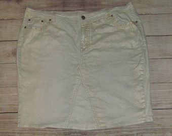 Ladies Jean Skirt- size 22