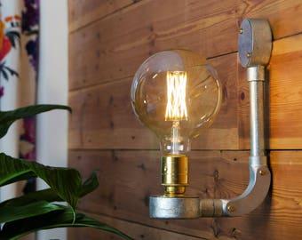 Industriel Vintage Style mur lumière, lampe LED, avec l'option de bascule en plus
