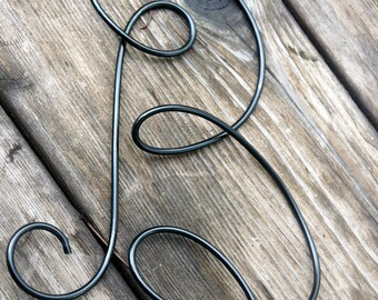 Uppercase Cursive Wire Letter, Your Own Choice Letter, 1pc