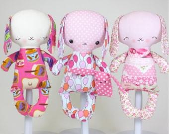 SALE Bunny Baby PDF Doll Pattern