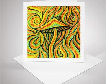 Sorcerer, Greeting Card