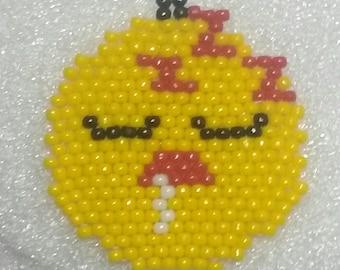 Sleeping Emoji Earrings
