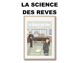 The Science of Sleep Movie Print - Poster Michel Gondry A3