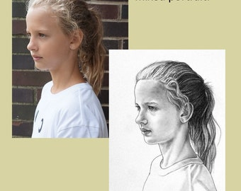 Portrait Commission of Pets, Child, Adult, Person in Drawing or Painting by Award Winning Artist Christopher Shellhammer.