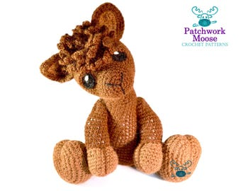 Alpaca Amigurumi Crochet Pattern PDF Instant Download - Alfie