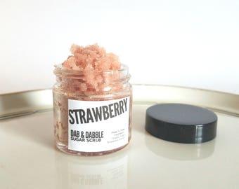 Strawberry Sugar Scrub | Body Polish | Exfoliating Body Scrub