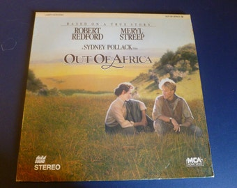 Out Of Africa Laser VideoDisc 1986