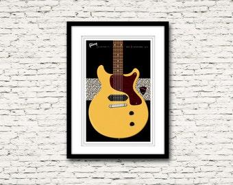 Guitars Signature Series Poster 9 Les Paul TV New York Dolls