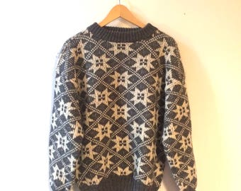 Vintage Thick Wool Sweater