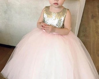 Sequin Flowergirl Dress