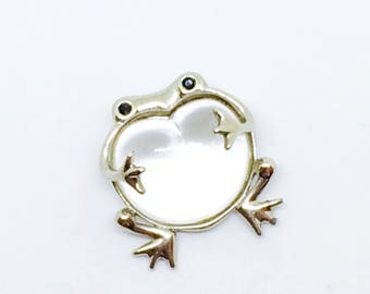 Brooch froggy Jelly Belly  vintage aproximative  1975