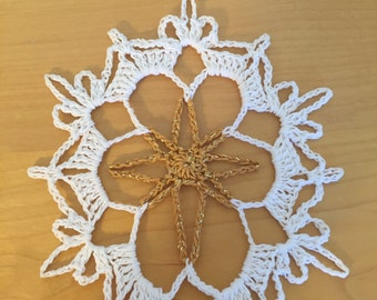 Star Snowflake pattern/ not a finished product - no refund