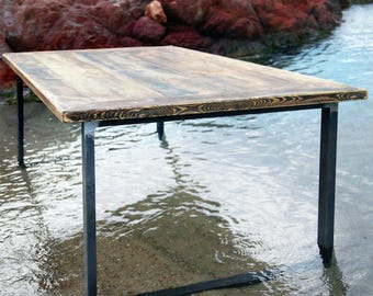 Timber dining table, Erik 2, 180 x 96 cm