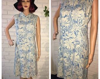 Vintage 50's Floral Day Dress