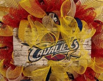 Cleveland CAVS Wreath
