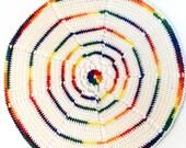 Napperon circulaire croch...