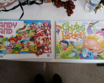 Candy land chutes and ladders board game sealed