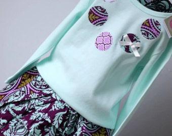 Custom Girls Skirt- Girl Skirt- Ruffle Skirt- Custom Boutique Girls Ruffle Skirt- Available Sizes 12-24mo, 2T, 3T, 4T, 5- the dottedduck