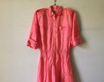 Vintage Dress - Silk
