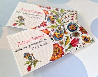 Custom Business Cards, Business Cards, Unique Business Cards, Set of 50