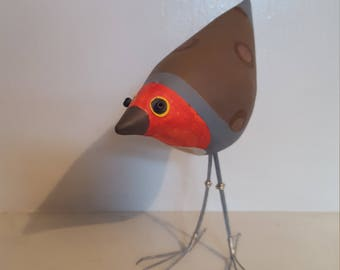 Robin Bird Sculpture