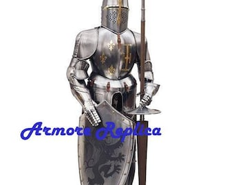 Medieval Full suit of Armor-Handmade/Premium Quality Product/Fully Wearable